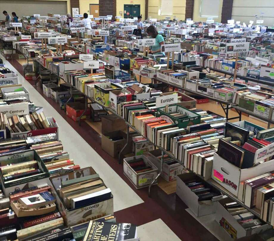 The Friends of The Booth Library Book Sale runs from July 13 through July 17 at Reed Intermediate School in Newtown. Photo: File Photo