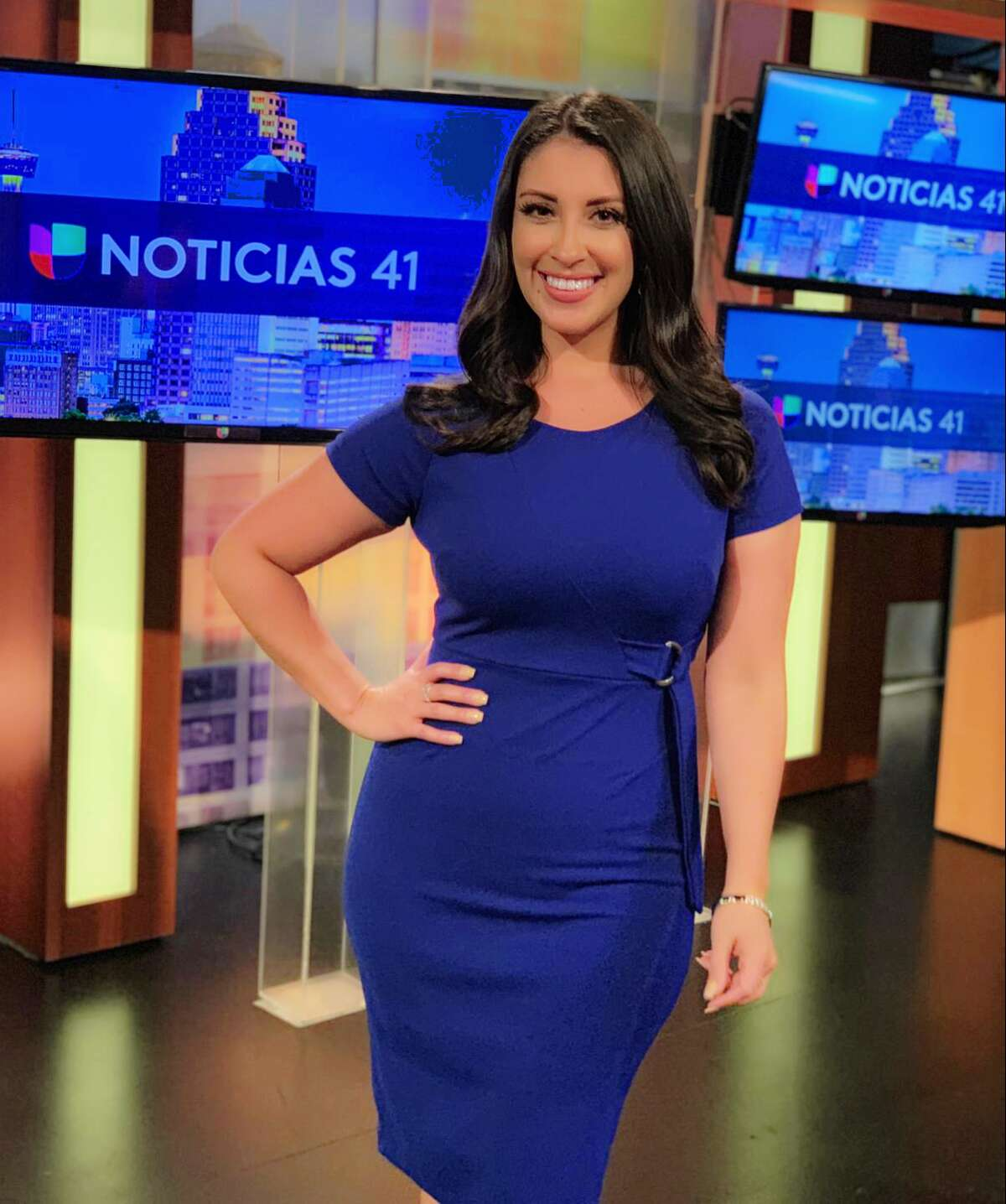 Univision San Antonio welcomes Valeria Barriga as their new weather anchor for 'Primera Hora.'
