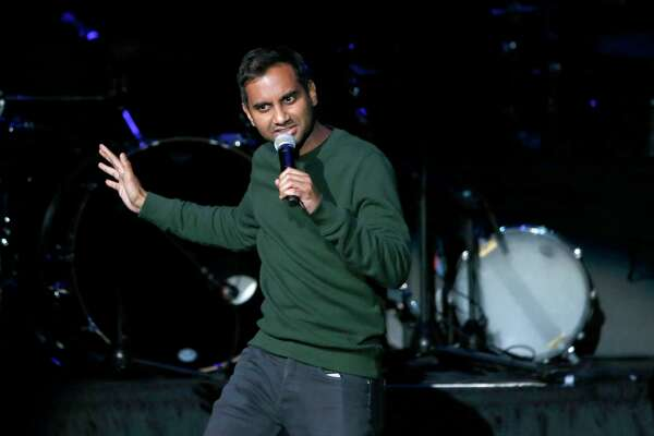 AZIZ IN SPRINGFIELD: Comedian Aziz Ansari, shown during a community concert at the Obama Foundation Summit in Chicago in 2017, will perform at Symphony Hall in Springfield, Mass., at 8 p.m. Saturday, July 6, presented by MGM Springfield.