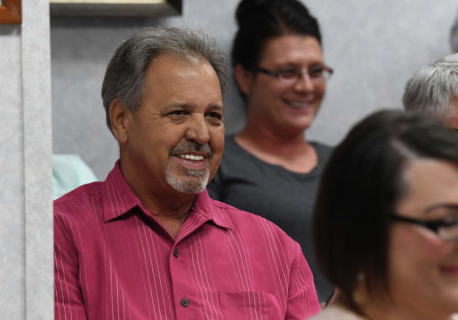 Kirk Roccaforte was selected by Judge Carl Tibodeaux to replace John Gothia as the percent 3 commissioner during Wednesday's Orange County Commissioner's meeting.