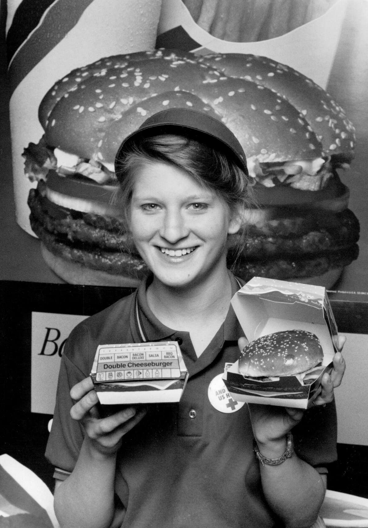 There was no relation to Burger King, which first opened in Florida in 1953, or Burger King's Whopper hamburger, which first debuted in 1957.