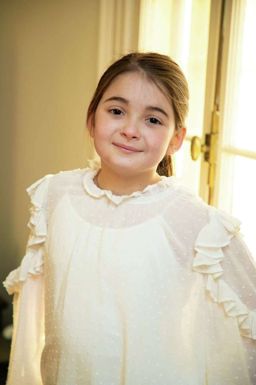 Emilie Saltzman, 7, of Hopewell Junction. Sen. Schumer is using her to illustrate the stakes of losing Obamacare if the 5th Circuit court case is ultimately successful. She was thrown from a horse and suffered a traumatic brain injury four years ago. (Lauren Asselmeyer courtesy of Sen. Charles Schumer)
