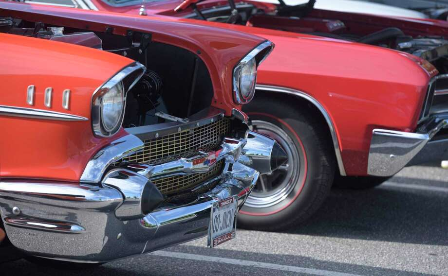 Friday night, July 12, is classic car night as Wilton Kiwanis presents the Geeb Fleming & Nick Allegretta Memorial Cruise from 5 to 8. Photo: H John Voorhees III / Hearst Connecticut Media / The News-Times