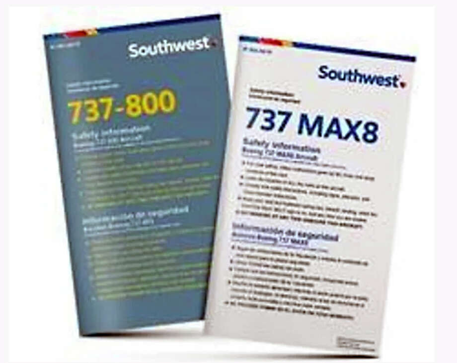 Southwest reissues 737 safety cards to allay MAX fears