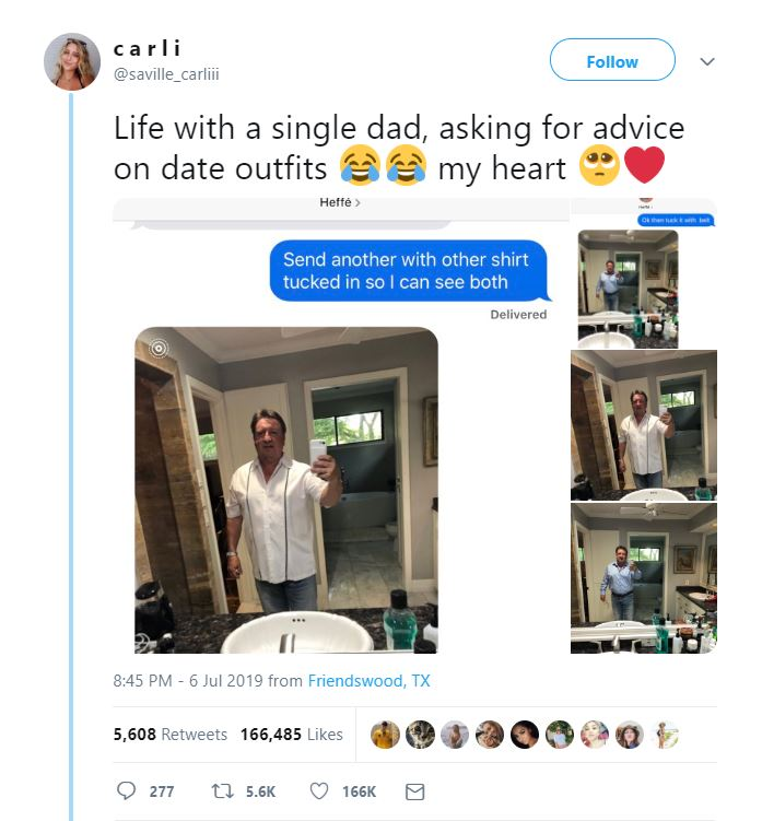 Viral News News And Photos: Friendswood Teen's Hilarious Post Of Father Asking For