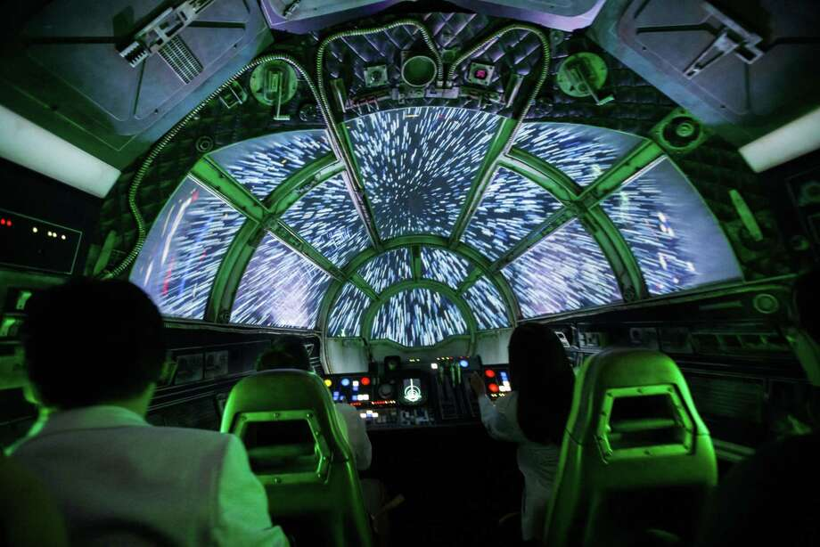 The Millennium Falcon: Smugglers Run ride at Disneyland in Anaheim, CU.S., on Wednesday, May 29, 2019. Photo: Bloomberg Photo By Patrick T. Fallon. / © 2019 Bloomberg Finance LP