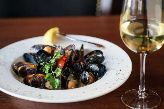 Mussels and wine are available at Bacaro Kitchen & Wine Bar at 14021 Memorial Drive in Houston.