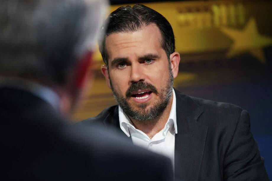Puerto Rico Gov. Ricardo Rossello during a Bloomberg Television interview in New York on June 3; 2019. Photo: Bloomberg Photo By Christopher Goodney. / © 2019 Bloomberg Finance LP
