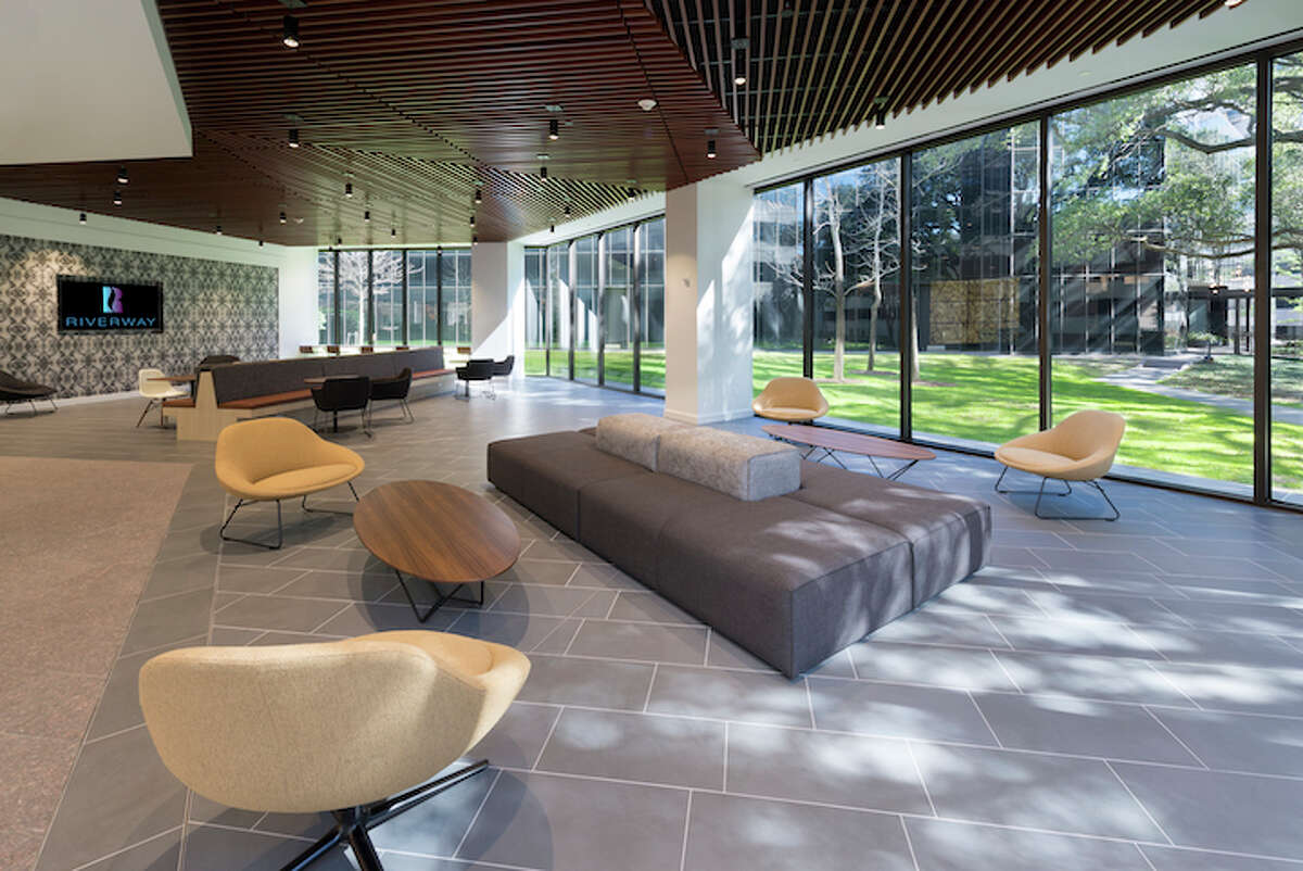 Unilev Management Corp., Azrieli Group and CBRE announce the completion of renovations at One and Three Riverway. The redesign and restoration were directed by Ziegler Cooper Architects.
