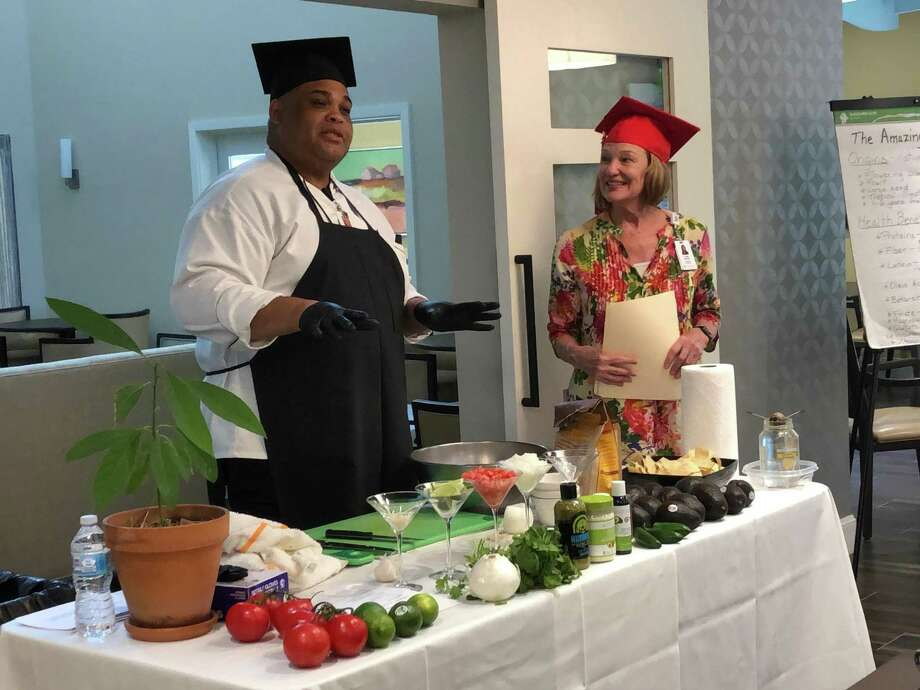 """Parkway Place, a faith-based senior living community, recently created """"Wellness University"""" to help residents better understand the nutritional value and benefits of specific foods. Parkway Place is located at1321 Park Bayou Drive in west Houston. Photo: Photo Courtesy Of Parkway Place"""