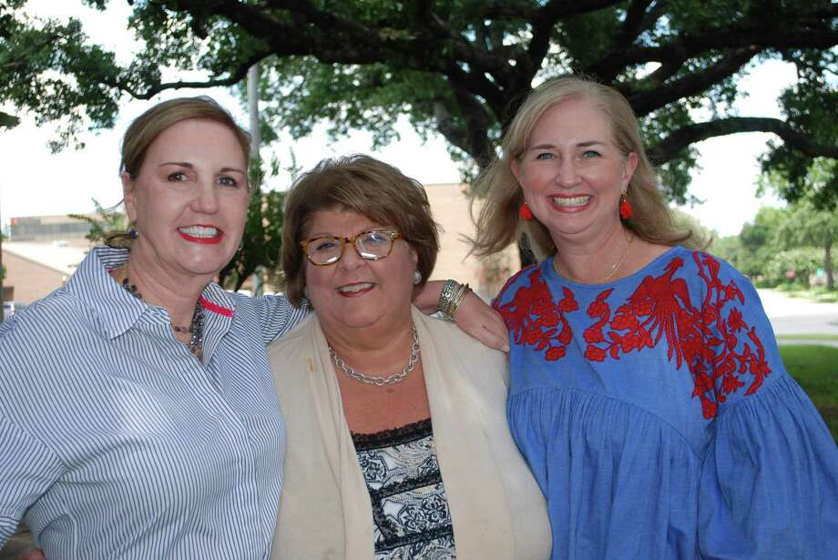 The Spring Branch Education Foundation is busy preparing for next year's fundraisers. Pictured here are Debra Aitken, SBEF board member; Cece Thompson, SBEF executive director; and Suzanne Stiles, SBEF board member. Photo: Courtesy Photo
