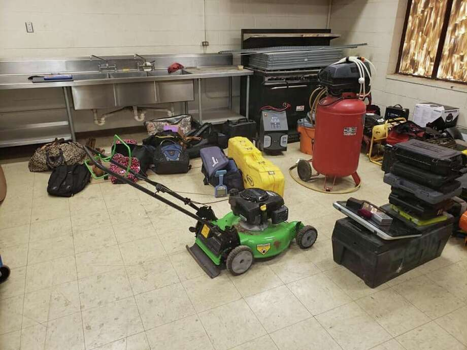 The Midland Police Department will be holding a viewing party for property recovered from burglary and theft cases. Photo: Midland Reporter-Telegram