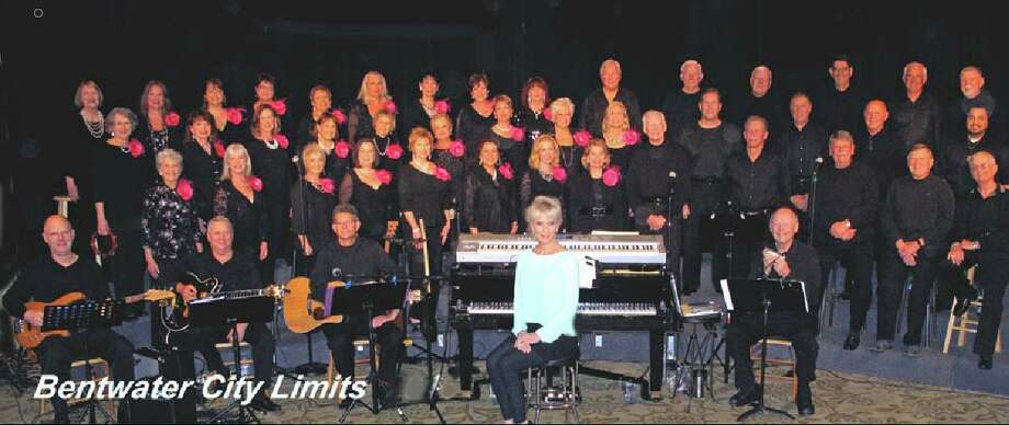 "After a two-year hiatus, more than 60 Bentwater residents are performing at ""Bentwater City Limits Reunion"" July 18, 19 &0.  A musical revue directed by Keith Ann Gearn at Bentwater Yacht Club, it's a fundraiser to benefit Be An Angel, a nonprofit entity that, since 1986, has helped children with multiple disabilities or profound deafness. Photo: Courtesy Photo"