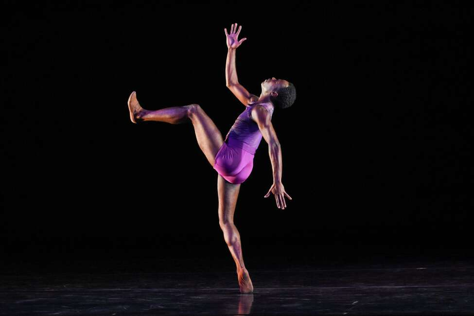 Christopher Charles McDaniel of Dance Theatre of Harlem in Darrell Grand Moultrie's