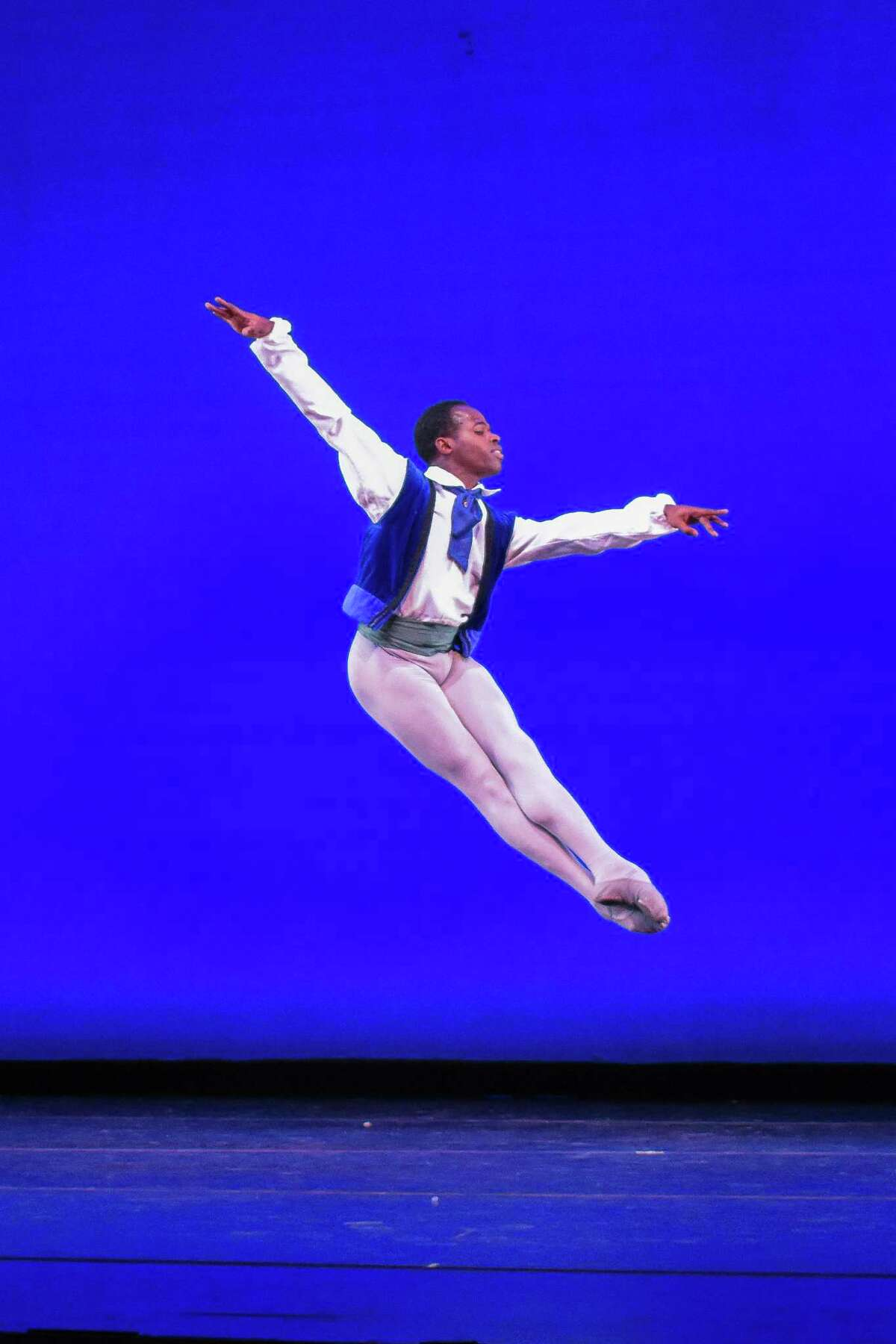 Christopher Charles McDaniel of Dance Theatre of Harlem in George Balanchine's