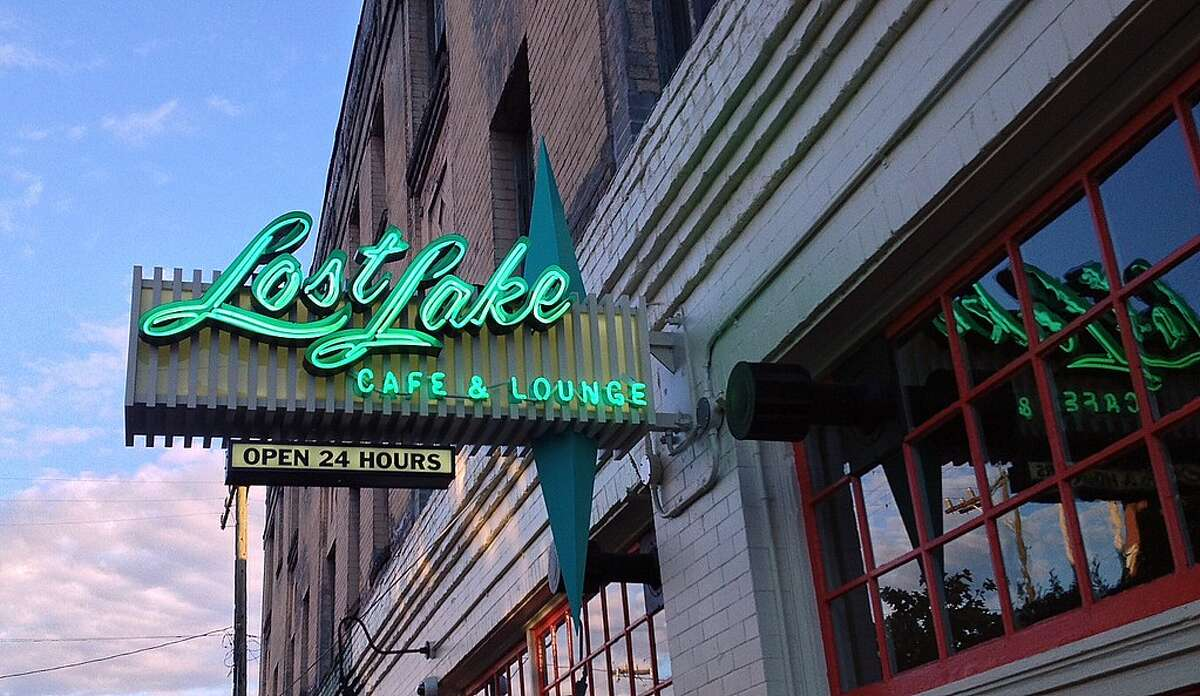 Lost Lake Cafe and Lounge--Capitol Hill The 24-hour haven for benedicts and scrambles hosts Capitol Hill post-boozers and doesn't seem to disappoint. Alongside classic flat top diner tables and red leather booths, steaks, shakes, and pancakes are the name of the game.