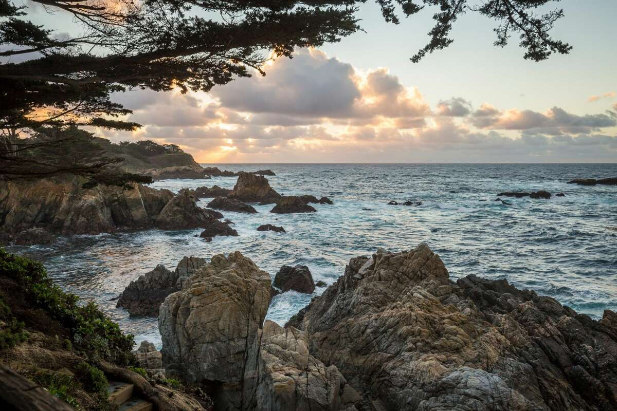 The Seven Coves Resort is set over four acres in Carmel, with amazing coastline views.