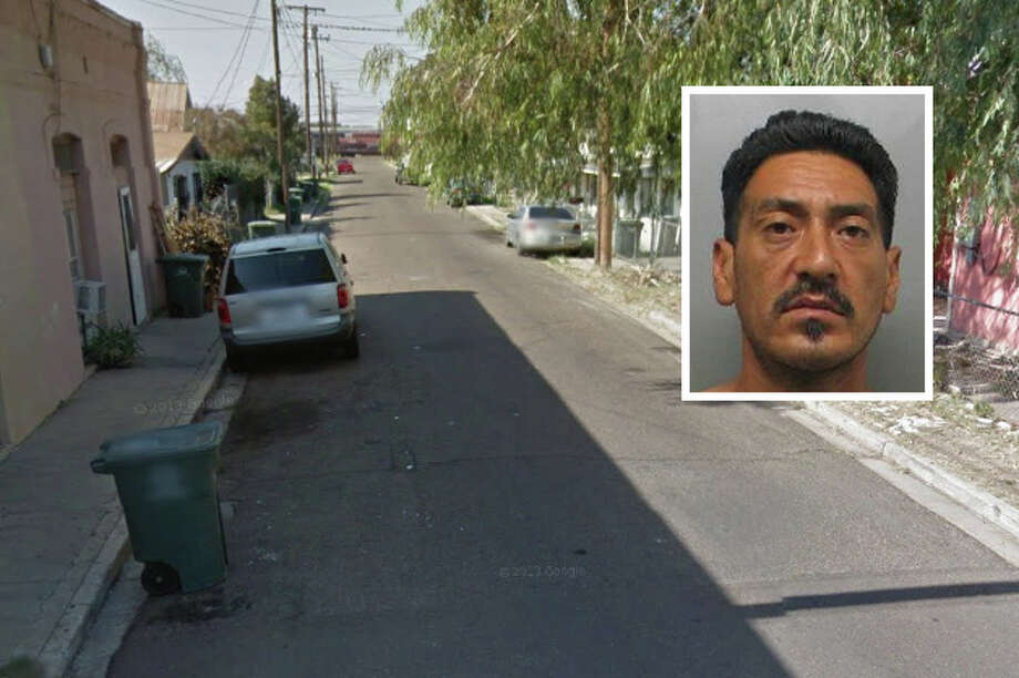 A man has been arrested following a domestic disturbance in central Laredo, according to Laredo police. Photo: Courtesy