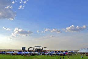 General view of Rock The Desert 2013 Thursday. James Durbin/Reporter-Telegram
