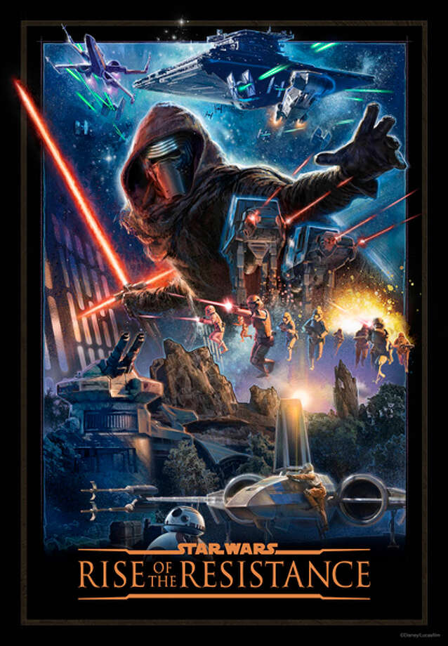 "Disney announced today that ""Rise of the Resistance,"" the new Star Wars ride in its Galaxy's Edge themed land, will open in 2020. Photo: Disney Parks"