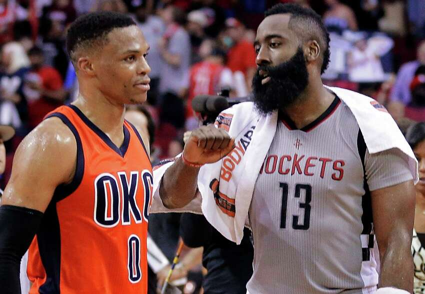 PHOTOS: Things to know about new Rockets guard Russell Westbrook On Thursday evening, reports revealed that the Rockets had traded a package of draft picks and point guard Chris Paul to the Oklahoma City Thunder in exchange for All-Star guard Russell Westbrook. >>> Here's everything you need to know about the former NBA MVP ...