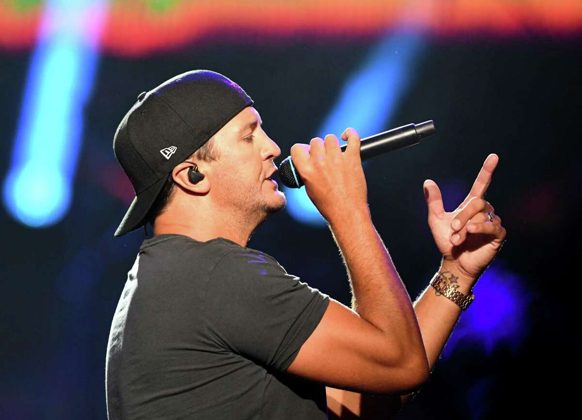 Luke Bryan performs at Saratoga Performing Arts Center on Thursday, July 11, 2019, in Saratoga Springs, N.Y. (Catherine Rafferty/Times Union)