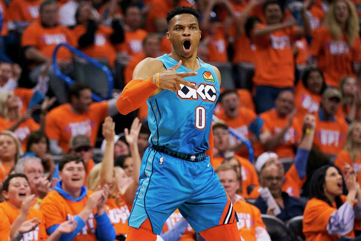 With 138 career triple-doubles, Russell Westbrook is tied with Magic Johnson for second place on the NBA's all-time list. Oscar Robertson had 181.