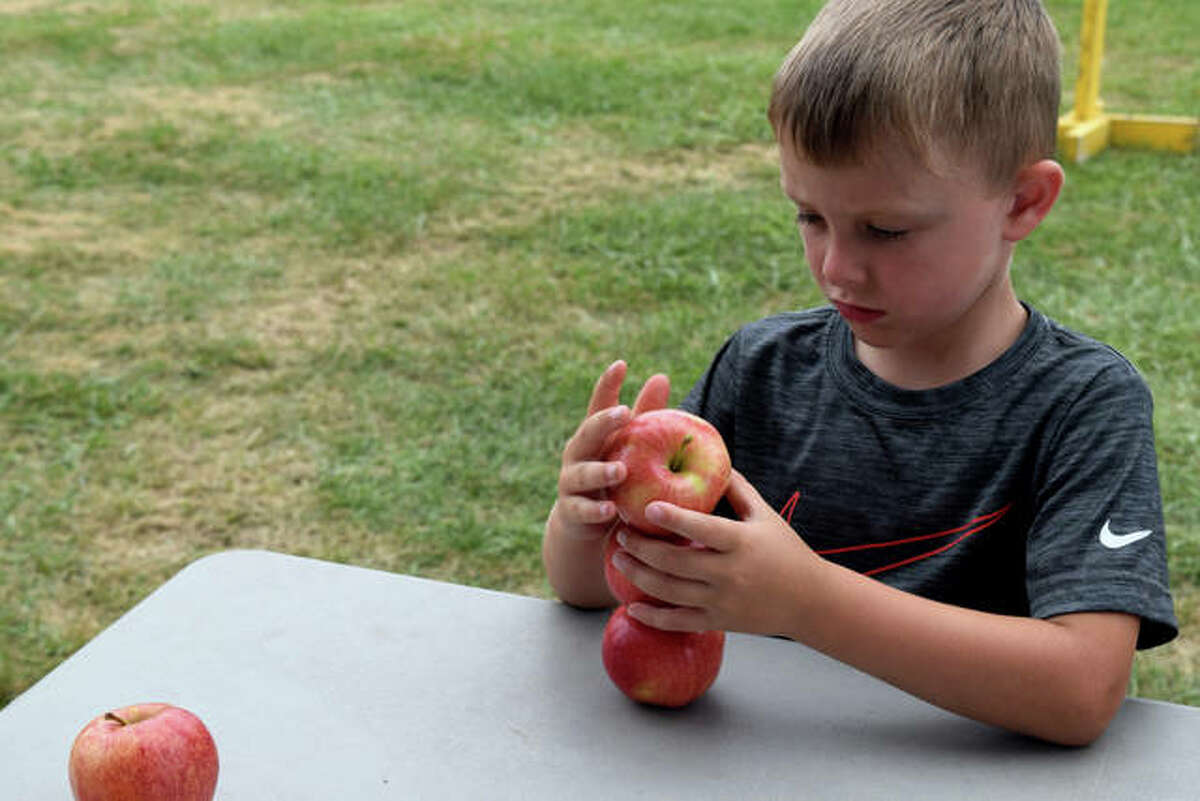 Sights from Kids Day at the Morgan County Fair on Thursday.