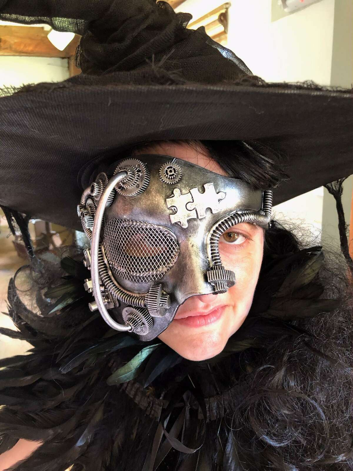 Joanie Brittingham as the Witch.