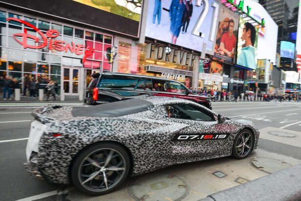 Photos of the disguised, next-generation, mid-engine Corvette have been multiplying like rabbits on the Internet. In April, Chevy teased the public when it took a heavily camouflaged (and guarded) Corvette on a short spin in New York City.