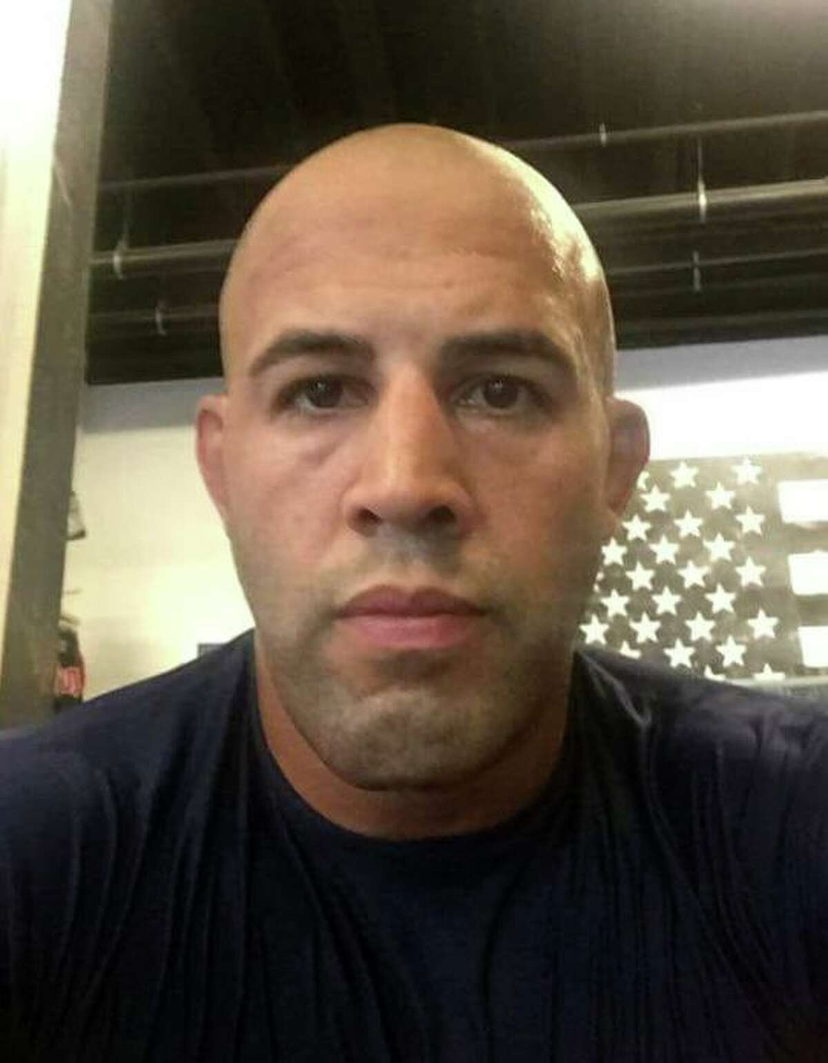 Trumbull Police Officer Michael Gonzalez, 40, has been charged with third-degree assault, second-degree threatening and disorderly conduct.
