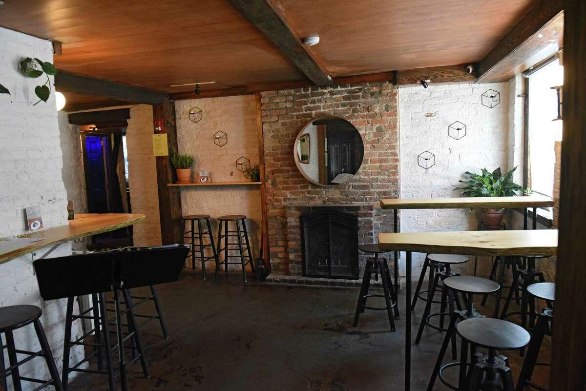 Interior of Post Wine Bar on Lark St. on Wednesday, July 3, 2019 in Albany, N.Y. (Lori Van Buren/Times Union)