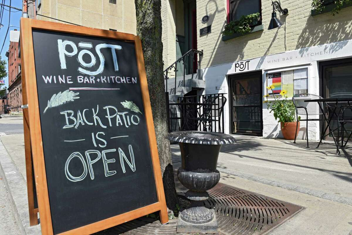 Exterior of Post Wine Bar on Lark St. on Wednesday, July 3, 2019 in Albany, N.Y. (Lori Van Buren/Times Union)