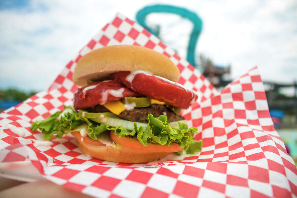 A variety of burgers, chicken tenders and desserts are now on tap at the park.