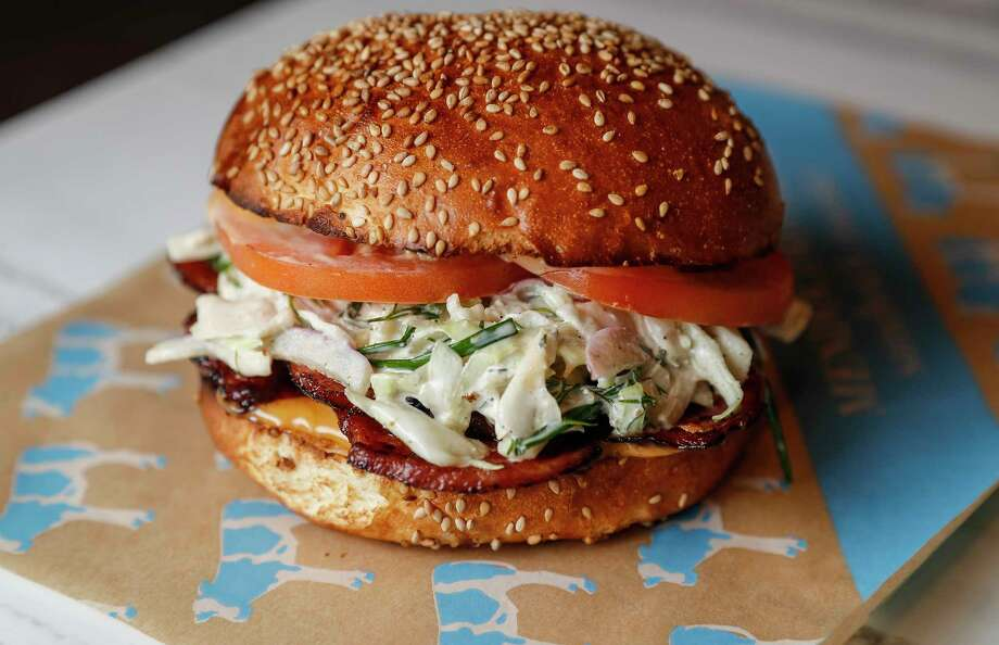 Mendocino Farms, a fast-casual sandwich and salad brand, will open its third Houston location Nov. 7. Photo: Karen Warren, Staff Photographer / © 2019 Houston Chronicle