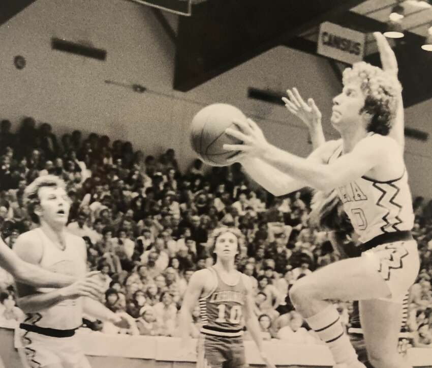Siena point guard Mike Catino was a member of the first Saints Division-I team in 1976-77, and twice led the Saints in scoring.