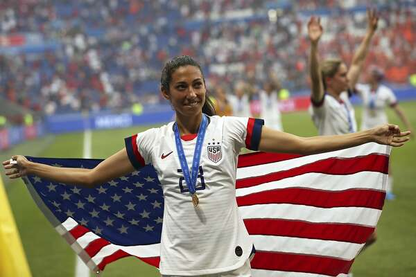 Christen Press: Support for equal-pay push for U S  women's