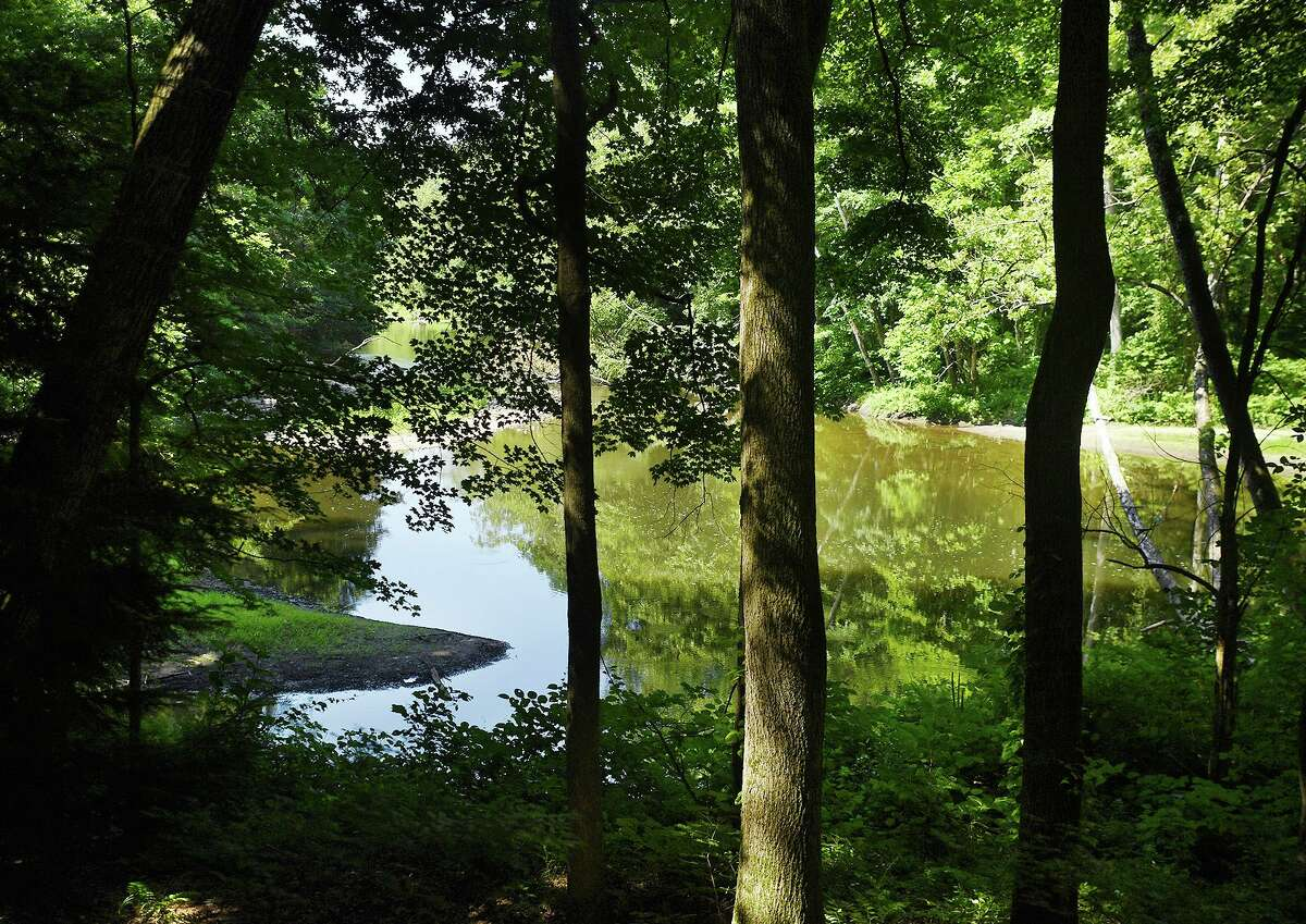 The Shepaug River at the Roxbury Land Trust's River Road Preserve in Roxbury, Conn., on Tuesday, July 9, 2019.
