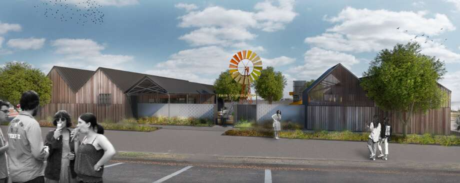 Renderings of the restaurant and entertainment concept Fair to Midland which was announced to open in 2020 by KPG Hospitality. Photo: Courtesy