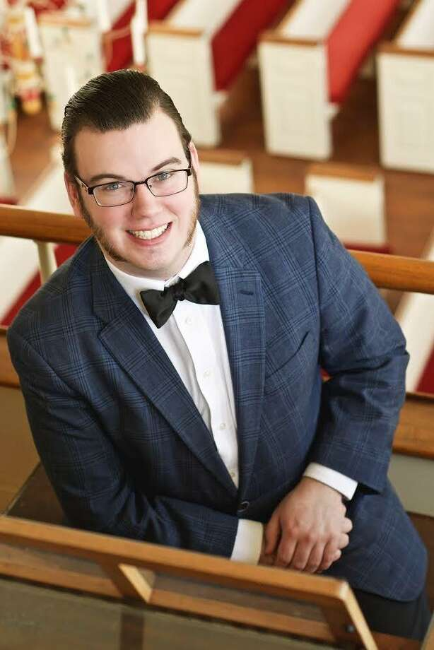 Benjamin Henderson from Middletown, who is currently pursuing a bachelor's degree (BM) in Organ Performance at the Eastman School of Music in the studio of Nathan Laube, will present a concert at The Lutheran Church of Madison July 17..     . Photo: Contributed Photo