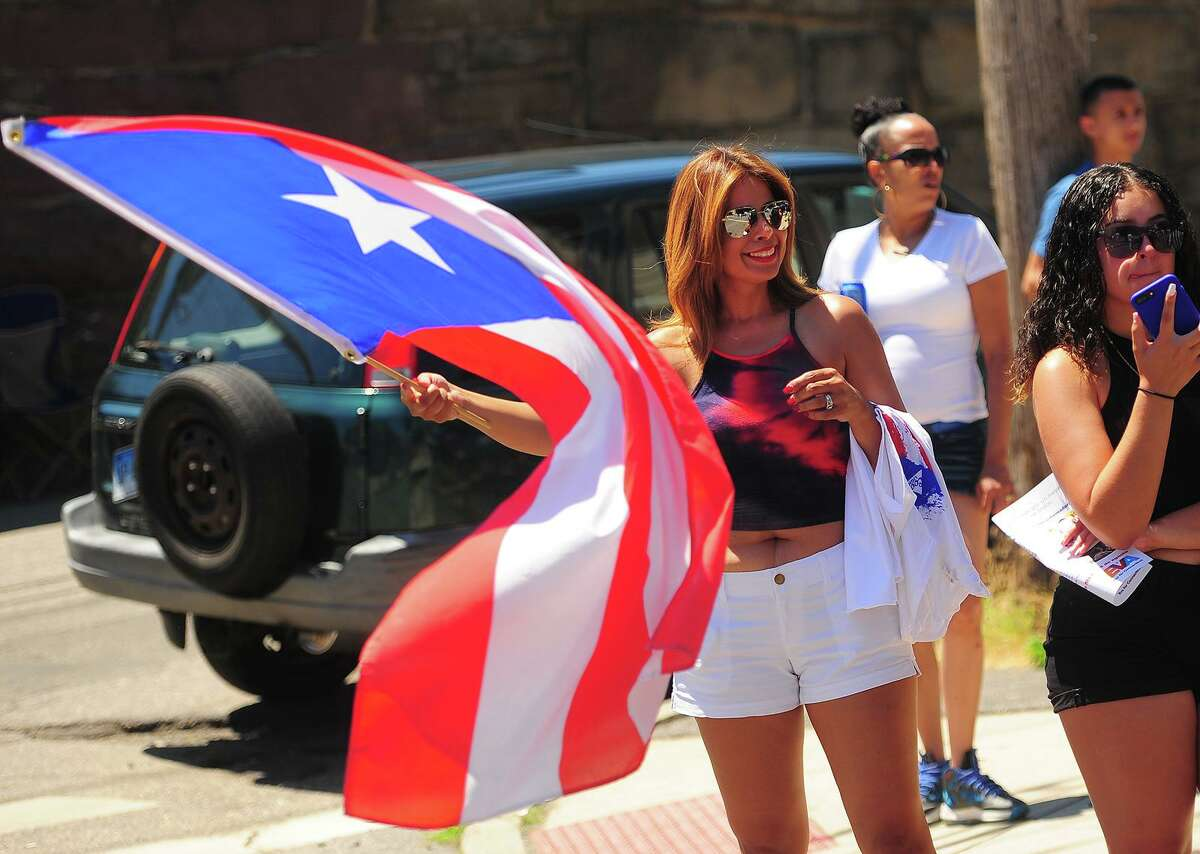 The Annual Puerto Rican Day Parade on Park Avenue in Bridgeport, Conn. on Sunday, July 8, 2018.