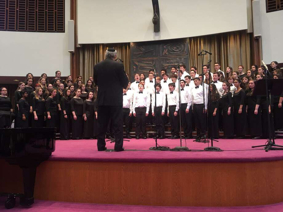 Singers from 20 chapters of HaZamir: The International Jewish Teen Choir joined HaZamir Pittsburgh for a free concert on May 19 at Temple Sinai in solidarity with the city of Pittsburgh. Photo: Contributed Photo