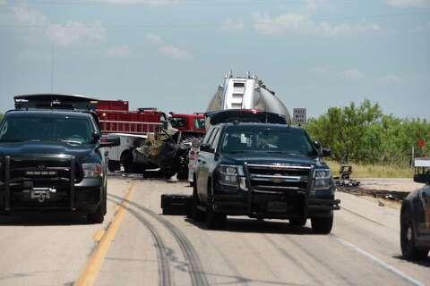 Police: Texas oilfield workers, truck driver killed in fiery