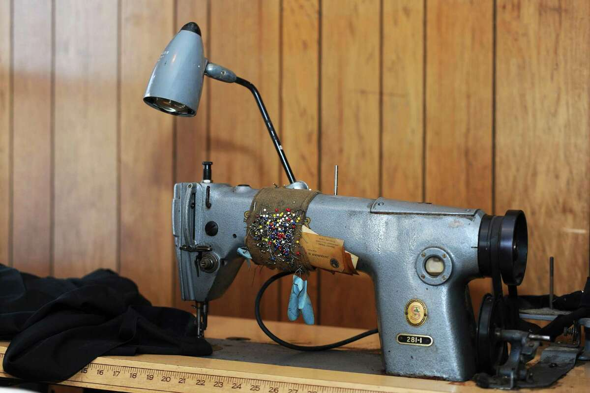Thomas Pia's sewing machine was used to tailor clothes, but more notably was used to sew space suits for astronauts. Photographed at the Pia home in Glenbook, Stamford, on Thursday, Feb. 11, 2016.