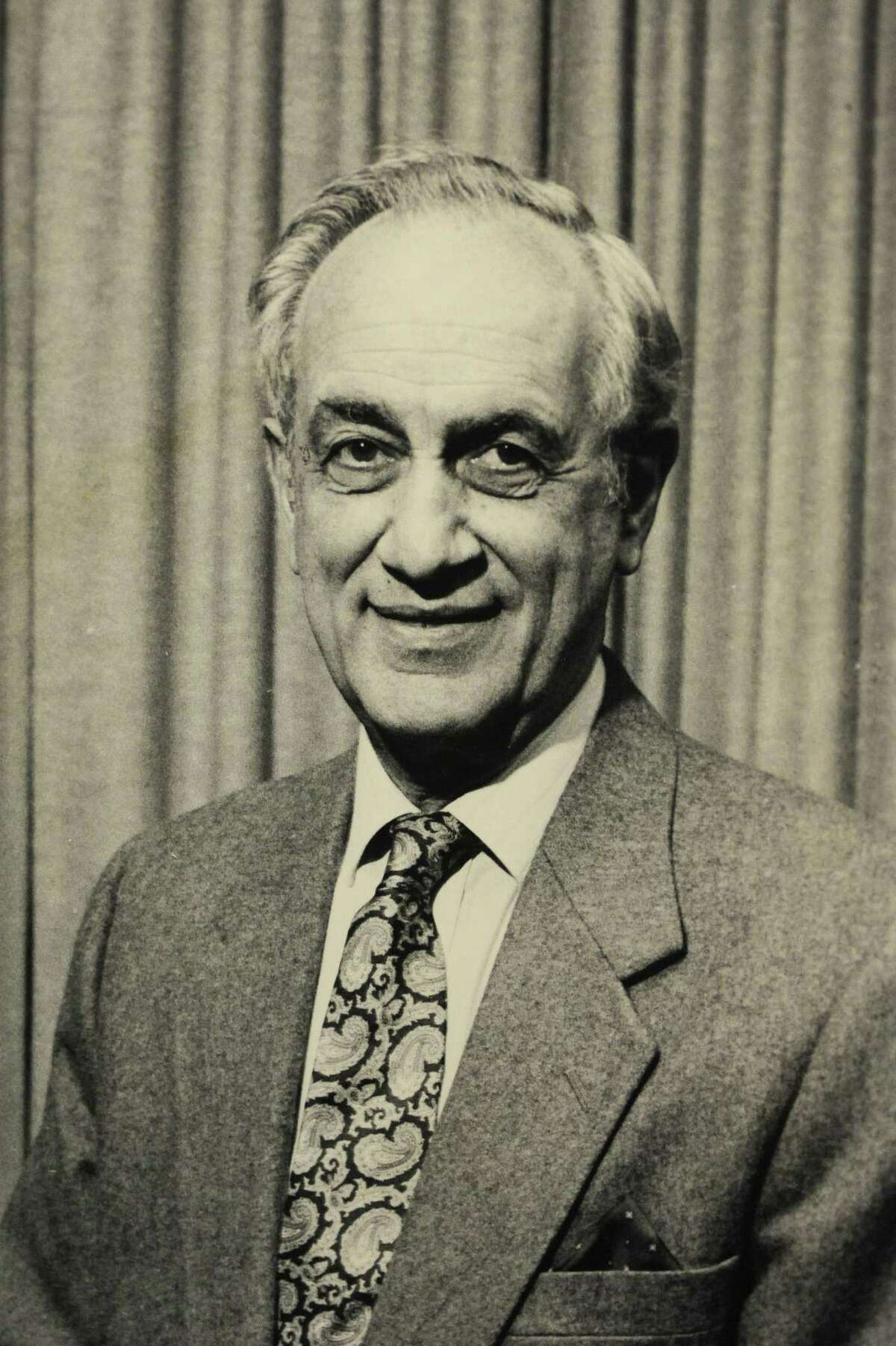 The late Thomas Pia (pictured), sewed space suits for astronauts while living in Stamford.