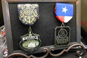 Maverick Whiskey's Fiesta medals