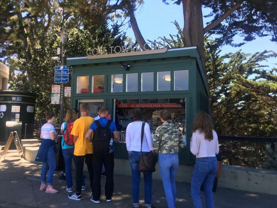 Coit Tower Cafe debuted Friday, July 12, 2019 and will offer a variety of snacks to visitors. Photo: San Francisco Recreation And Park Department