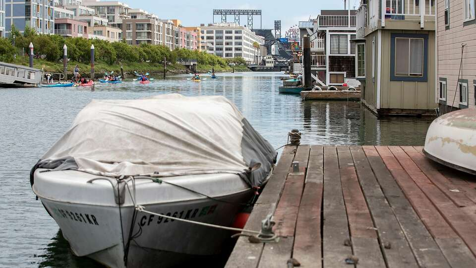 Rare floating home for sale, at a very San Francisco price
