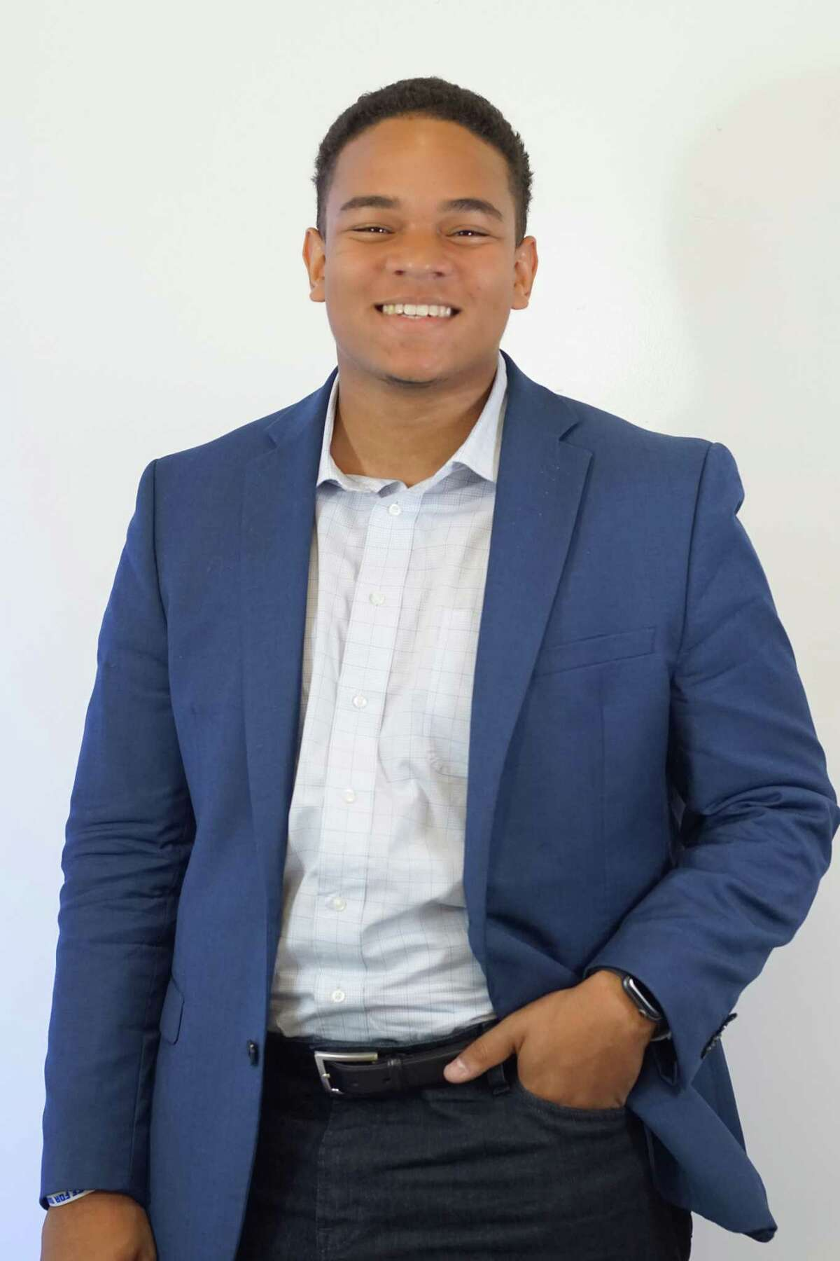 Marcel McClinton, 18, is running for the at-large city council position held by Michael Kubosh, who is seeking re-election.