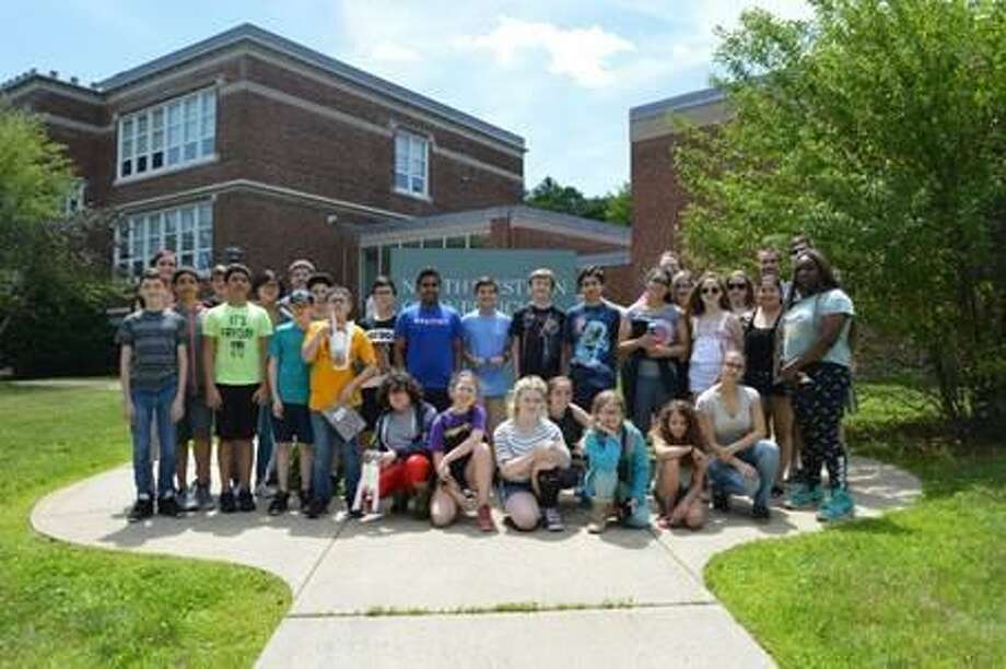 A group of 20 Torrington Middle School (TMS) students spent Friday, June 28 at Northwestern Connecticut Community College, learning about biology, chemistry and robotics. Photo: Contributed Photo